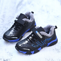 儿童棉鞋男童2018冬鞋加绒加厚童鞋保暖宝宝新款冬季鞋男孩二棉鞋