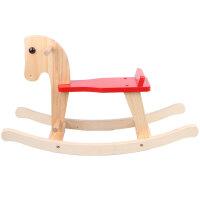 两用儿童实木木马摇马宝宝摇摇马婴儿小木马摇椅玩具周岁礼物