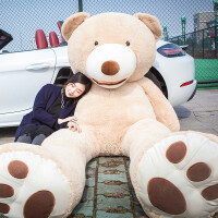 1.8玩偶礼物送女友熊猫女大熊大号毛绒玩具2米1.6熊3布娃娃