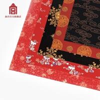 喜福连绵 艺术纸 热卖礼物包装纸 包书纸 书皮 古风文化礼品