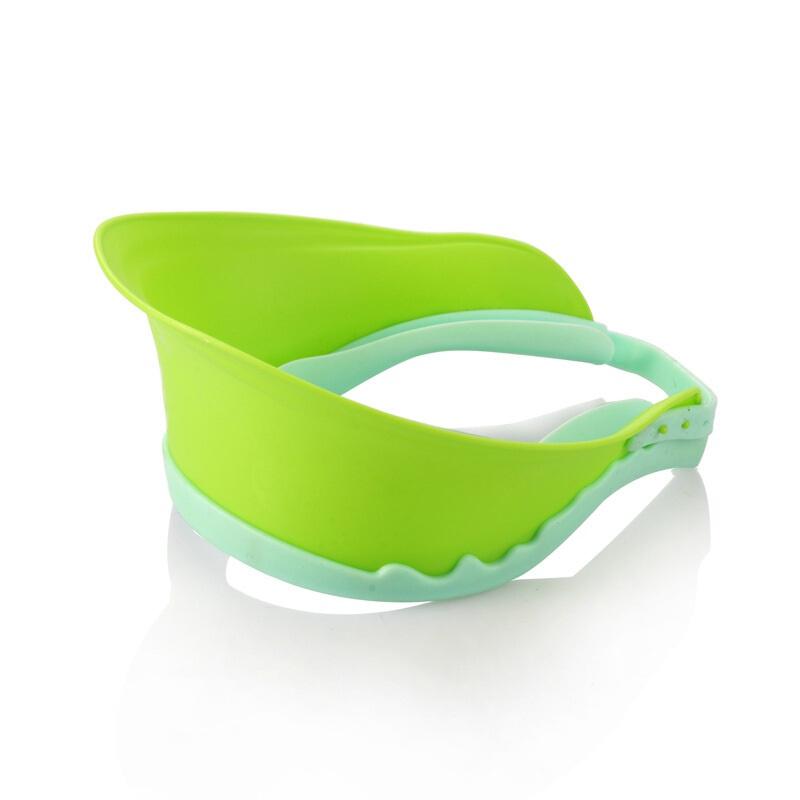 宝宝洗头帽婴儿洗发帽儿童防水浴帽幼儿洗澡帽可调节洗头帽加大厚
