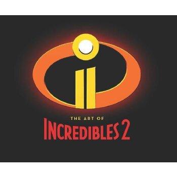 【现货】英文原版 The Art of Incredibles 2《超人总动员2》皮克斯电影制作画册 动画艺术设定集 精装  9781452163840 国营进口!品质保证!