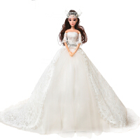 新娃娃套装女孩公主女童玩具大号娃娃婚纱礼盒超大90厘米 48厘米高85厘米拖尾