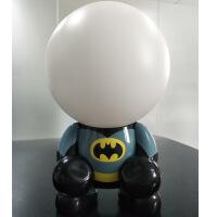 京朝创意LED创意小夜灯人蝙蝠侠台灯USB充电卡通动漫灯 0.3W