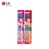 LG倍瑞傲 Hello kitty儿童牙刷(三段)(颜色随机发货)