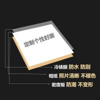 可定制封面18寸40页粘贴式覆膜相册本影集大容量家庭纪念册像簿