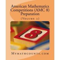 【现货】英文原版 美国数学竞赛 (AMC 8) 备考卷2 American Mathematics Competitio