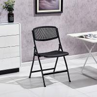 折叠椅子塑料凳子靠背椅宿舍办公椅电脑椅培训椅会议椅餐椅办公椅T