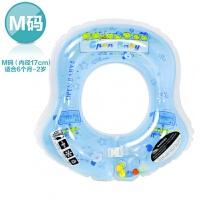 男孩婴儿充气游泳圈 新生儿宝宝腋下圈游泳救生圈0~3~6儿童泳圈 戏水玩具
