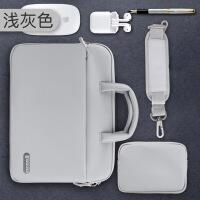 【特惠】2019优选手提电脑包适用苹果戴尔华硕15.6寸macbook笔记本内胆pro单肩14男
