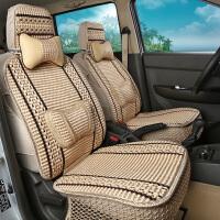 七座汽车坐垫商务车面包车专用夏季冰丝座垫北汽威旺M20 M30东风座套
