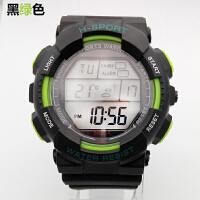 大表盘温度电子表表游泳测水温男孩青少年腕表多功能户外运动手表