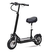 电动滑板车可折叠锂电迷你11寸油刹双减震真空胎代驾代步车 48V