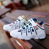 儿童篮球鞋秋冬新款男孩中大童学生男童鞋