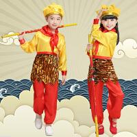 万圣节儿童服装演出服西游记孙悟空齐天大圣演出服美猴王套装表演