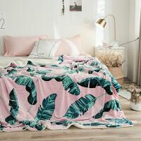 双层羊羔绒法莱绒毛毯 加厚休闲毯子沙发毯单双人盖毯秋冬