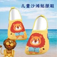 儿童沙滩鞋浮潜游泳鞋厚底防滑沙滩袜速干透气潜水袜家居涉水软鞋