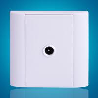 飞利浦墙壁面板插座86型 Q4 802TV0二分支有线电视电视插座