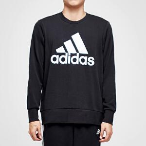 adidas阿迪达斯男子卫衣圆领套头衫休闲运动服CD6275