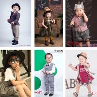 儿童摄影服装新款 时尚潮流影楼照相服饰男宝宝衣服