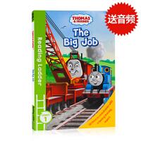 (88选5)托马斯和朋友们Thomas and Friends The Big Job英文原版分级阅读入门级Readin