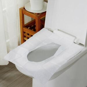 【年货节】欧润哲 便携装纸质一次性马桶垫 原生木浆厕所垫 出外旅游卫生间马桶垫纸