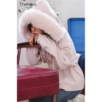 学生森系毛呢外套女2019秋冬小个子短款新款韩版粉色赫本风呢大衣