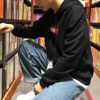 [2.5折价89元]唐狮秋冬新款卫衣男加绒连帽韩版潮牌帽衫潮