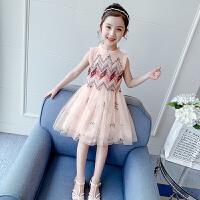 女童连衣裙夏装女孩纱裙夏季汉服裙子儿童公主裙
