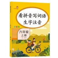 看拼音写词语生字注音.六年级 .上册