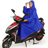 雨房雨衣电动车有带袖子成人男女单人加厚自行车电瓶摩托车雨披