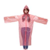【颜色*发货两件】一次性成人透明雨衣 透明雨披 加厚一次性雨衣118