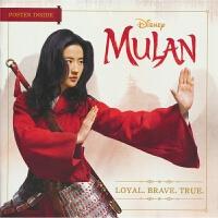 【首页抢券300-100】Disney Press Mulan Loyal. Brave. True. 迪士尼花木兰电影
