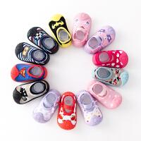 春秋季婴儿袜男女宝宝防滑学步防水新生儿地板鞋