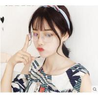 超轻不锈钢材质韩版男士近视镜框椭圆形小框眼镜女士防蓝光平光镜电脑镜
