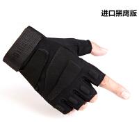 战术手套半指男健身器械特种兵训练手套秋冬季户外登山骑行手套