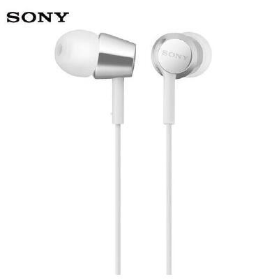 索尼(SONY)入耳式立体声通话耳机MDR-EX155AP