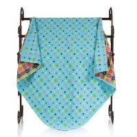 纯棉纱布童被方形浴巾 儿童毛巾被婴儿午睡毯空调被