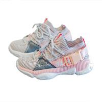 女童老爹鞋儿童针织运动鞋男童时尚休闲跑步鞋