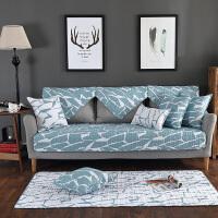 沙发垫四季通用布艺客厅简约现代北欧防滑夏季沙发套巾罩宜家坐垫
