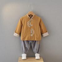 男童汉服套装春装宝宝汉服长袖服装中式儿童唐装两件套
