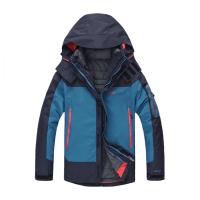 户外冬季冲锋衣男三合一两件套可拆内胆女加厚情侣登山防寒服防水