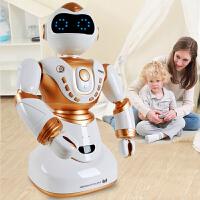 小胖机器人玩具 智能 对话遥控小帅语音充电动高科技儿童男孩玩具j9v
