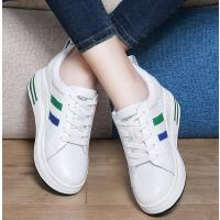 百年纪念内增高小白鞋女新款韩版百搭圆头女鞋休闲运动鞋1643