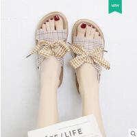 户外新品网红同款罗马凉鞋女学生平底ins潮仙女风新款时尚百搭沙滩鞋