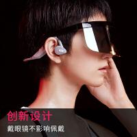 骨传导蓝牙耳机运动通用型双耳挂式颈挂脖式无线不入耳式男 可接听电话跑步女防水蓝牙5.0黑科技 标配