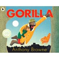 【5折封顶】英国进口 超级名家 安东尼・布朗代表作 Gorilla 大猩猩【平装】#
