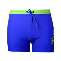 YINGFA英发 男士平角泳裤Y3583 舒适简约纯色游泳裤
