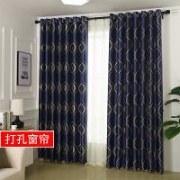 隔热窗帘成品简约现代欧式客厅卧室落地窗遮阳布窗帘遮光布遮光J