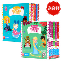 【满300-100】First Stories Busy系列10册童话篇白雪公主小红帽灰姑娘花木兰美人鱼阿拉丁英文原版绘